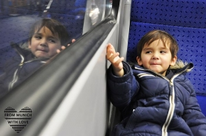 Mit Kinderwagen und öffentlichen Verkehrsmitteln in München unterwegs
