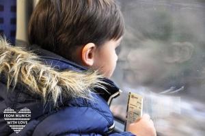 Kinderwagen und öffentliche Verkehrsmitteln in München