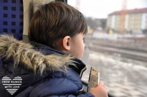 Kinder in der S-Bahn München