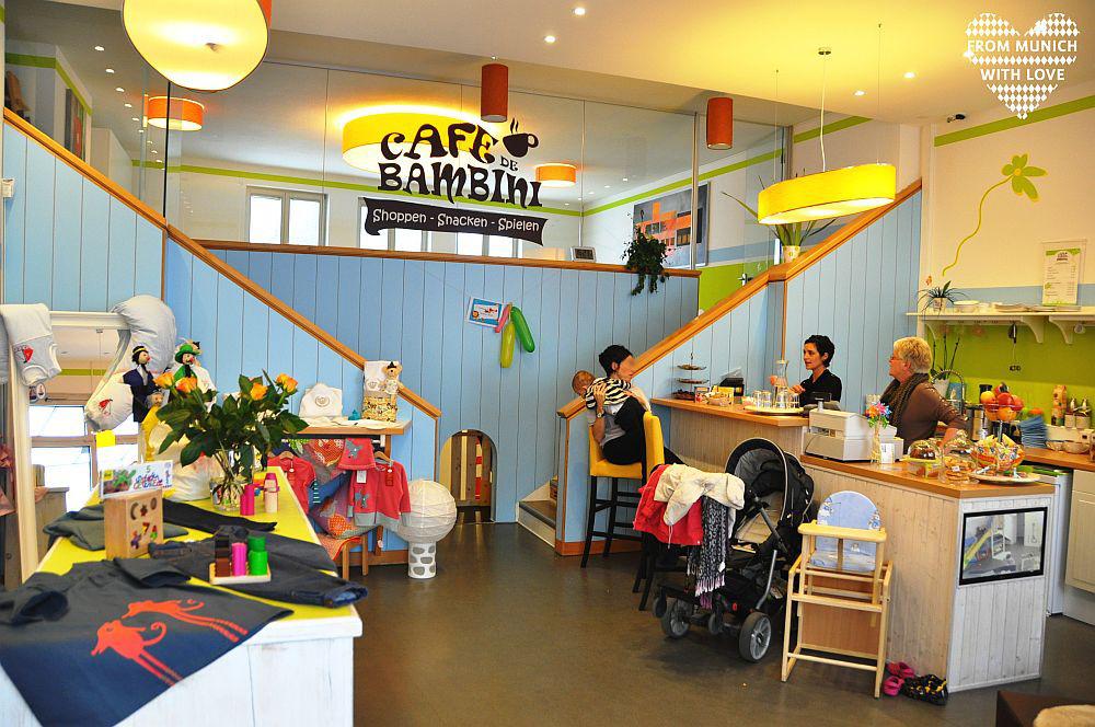 Nettes Cafe In Hamburg
