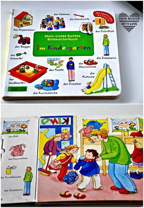 Buch über den Kindergarten