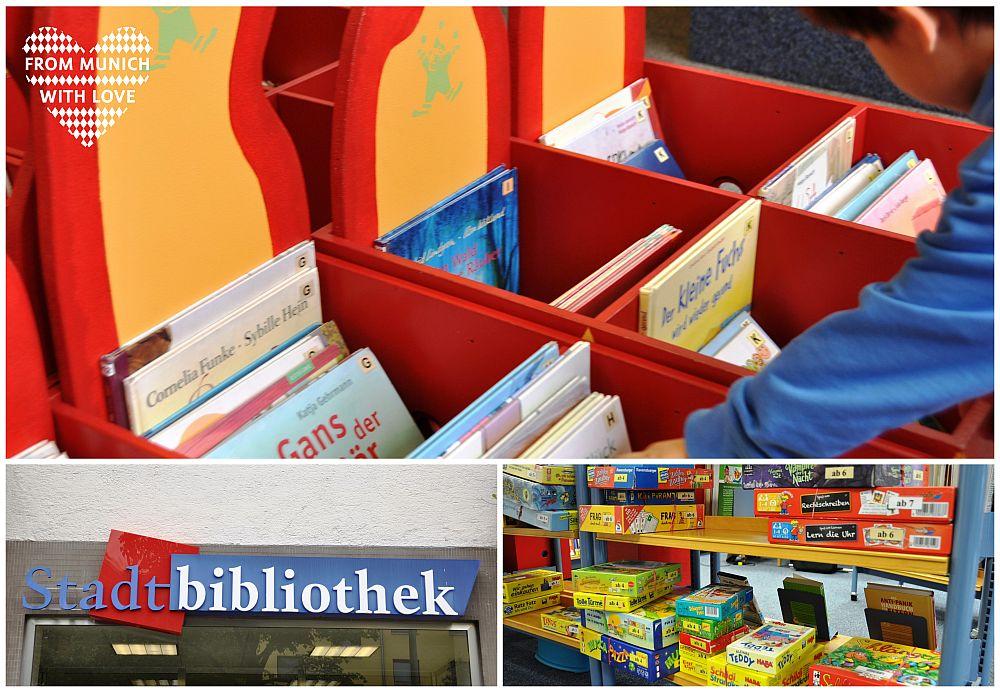Stadtbibliotheken in München Bücher