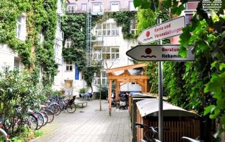 Cafe Netzwerk in der Häberlstasse in Muenchen