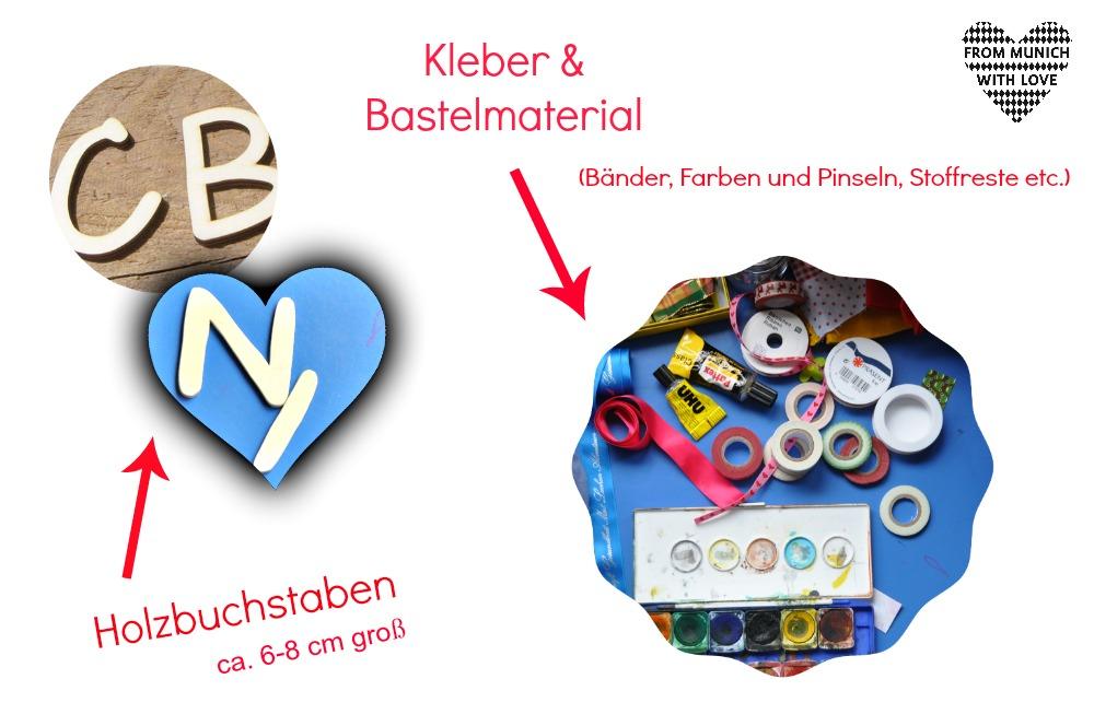 diy kindernamen aus holzbuchstaben from munich with love. Black Bedroom Furniture Sets. Home Design Ideas
