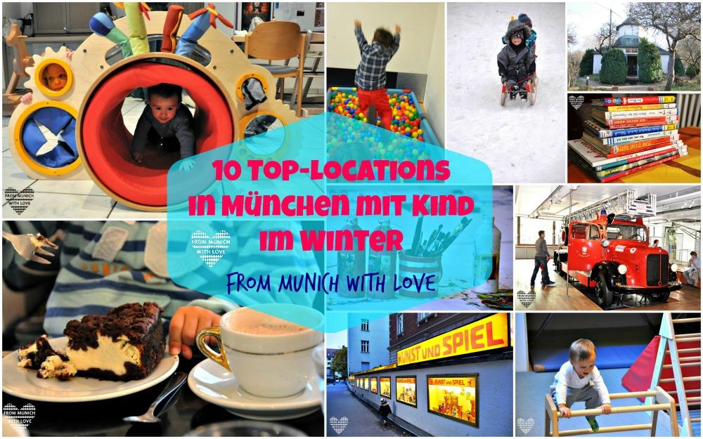 10 top Locations mit Kids in Muenchen im Winter