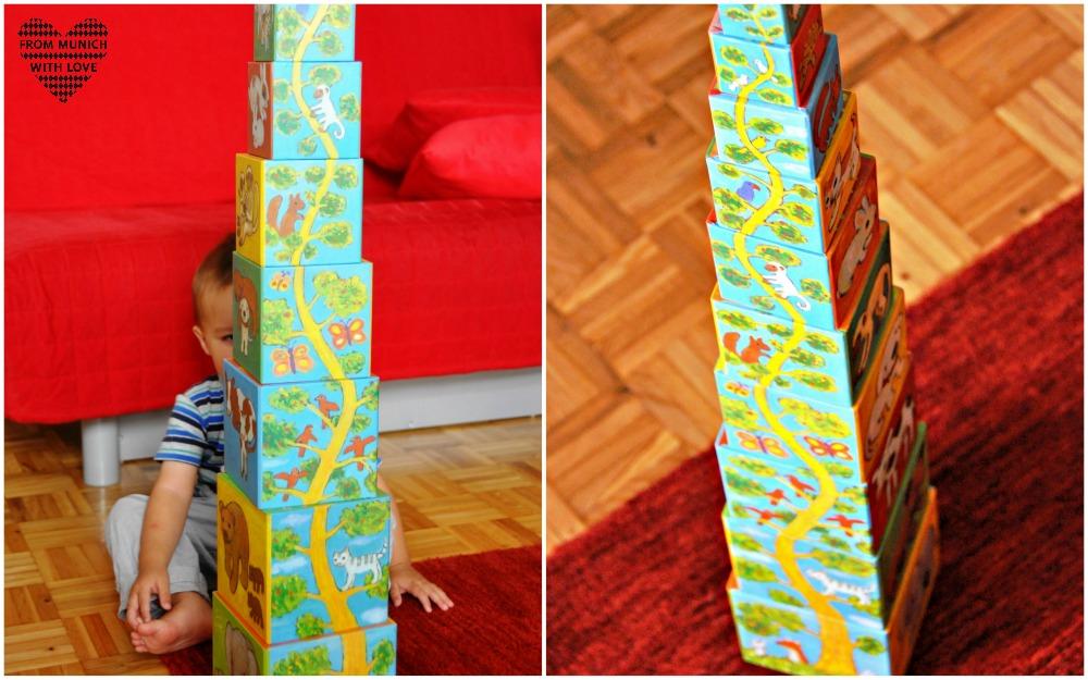 Das beste Geschenk für ein 1-2-jähriges Kind: ein Stapelturm - From ...