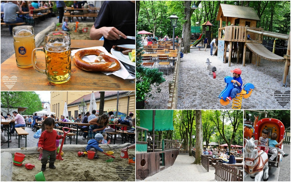 Biergärten mit Kindern
