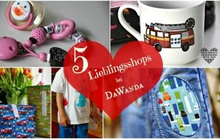 Lieblingsshops bei Dawanda