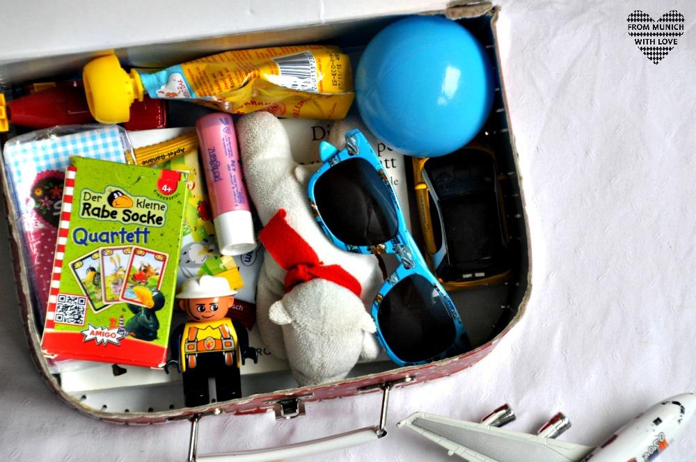 Kinderkoffer packen