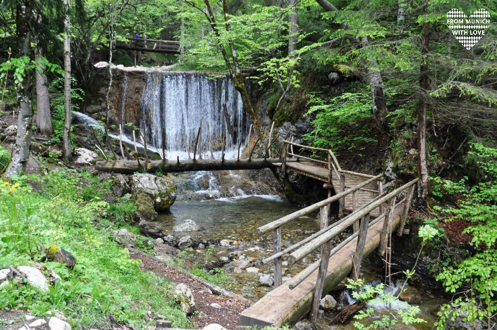 Wendelstein-Maennlein-Weg_Wasserfall