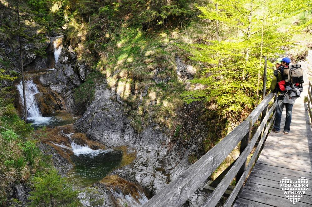 Wendelstein-Maennlein-Weg-Wasserfall