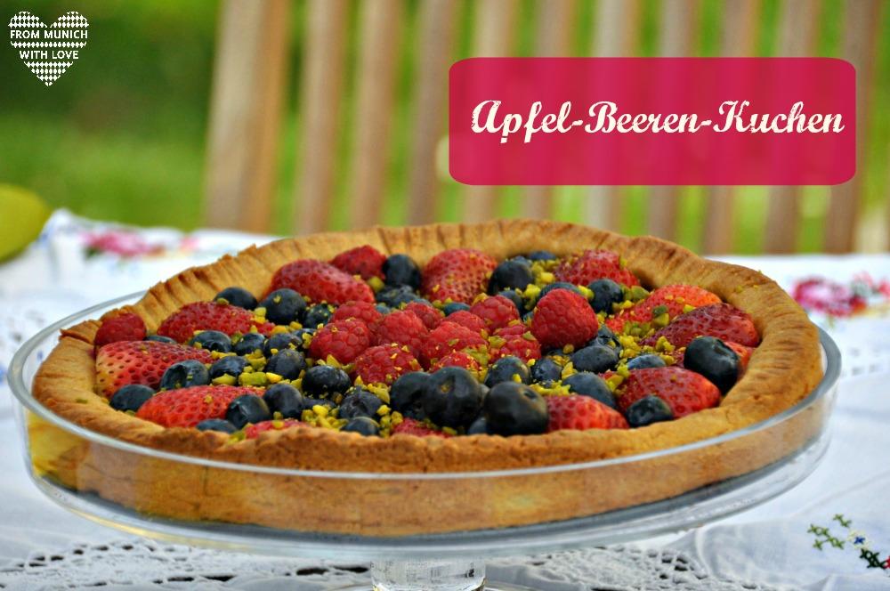 Apfel-Beeren-Kuchen crostata di frutta