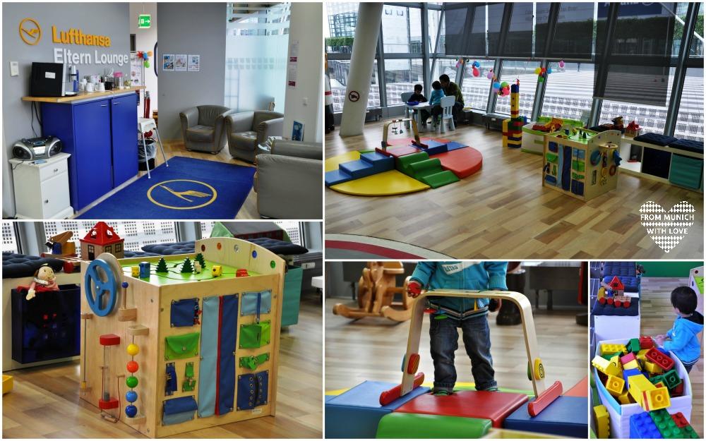 Babybereich im Kinderland Flughafen München