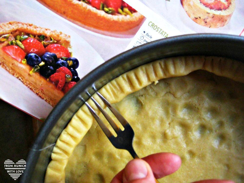 Apfel-Beeren-Kuchen Kuchengabel