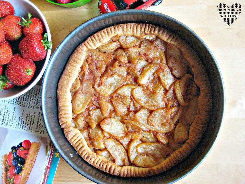 Apfel-Beeren-Kuchen backen