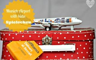 Munich Airport with kids Spielecken