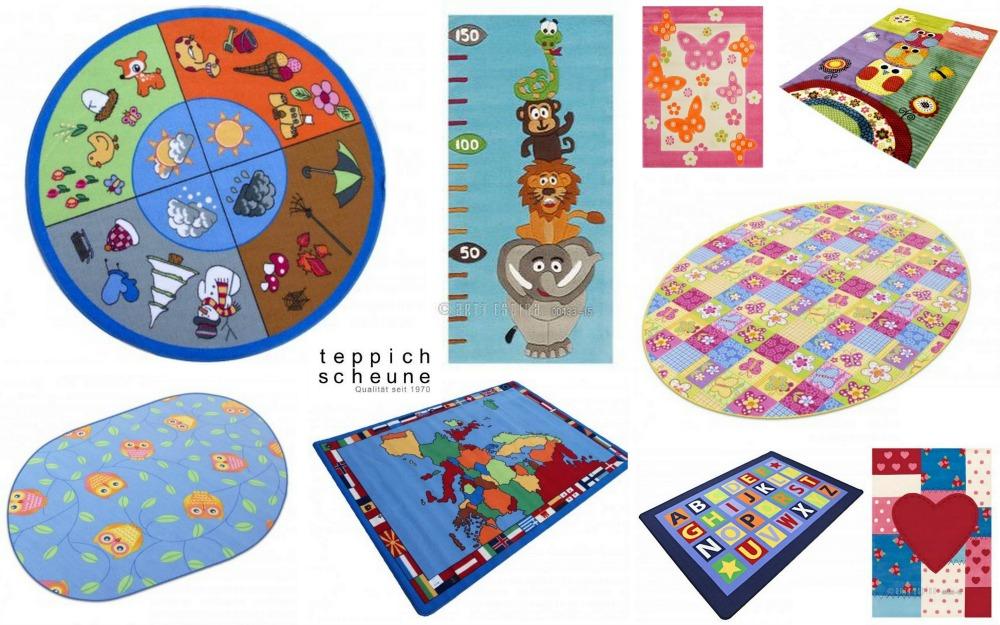 Teppichscheune Kindertepiche Farben
