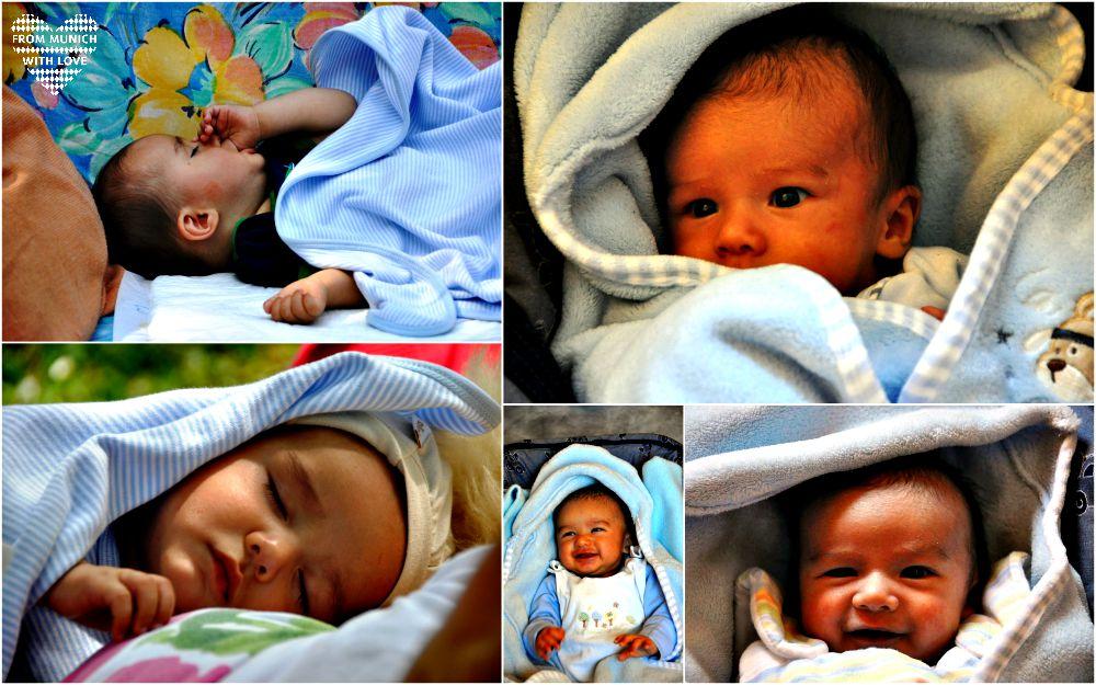 Geschenke zur Geburt Babydecke