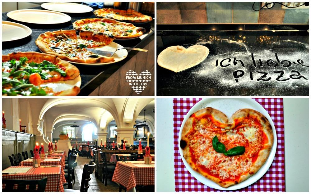 Pizza im Ciao Francesco Luitpoldpark