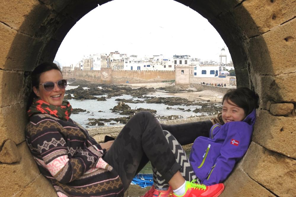 Eva und Tocher Essaouira