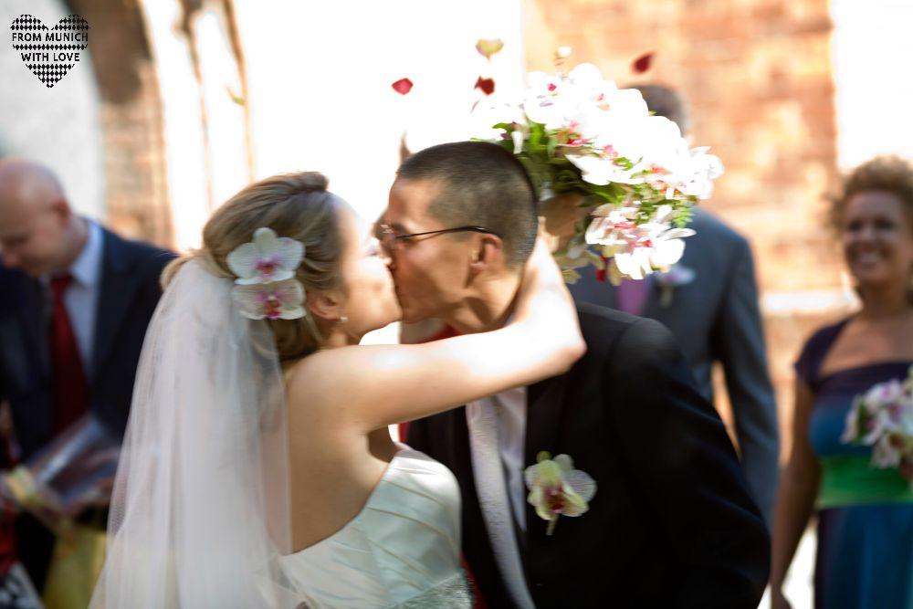 Kirchliche Hochzeit in Warschau