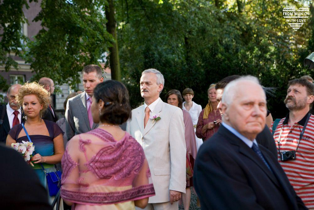 Kirchliche Hochzeit in Warschau Aufstand