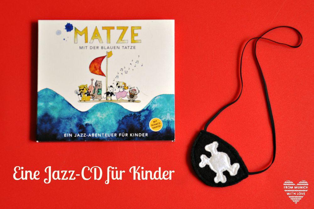 Matze mit den blauen Tatze Jazz CD für Kinder