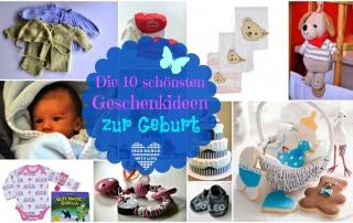 Die 10 schönsten Geschenkideen zur Geburt