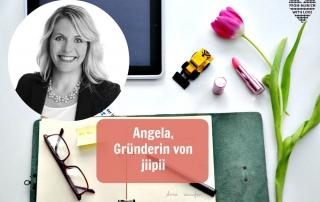 Angela Lehmann, Gründerin von jiipii