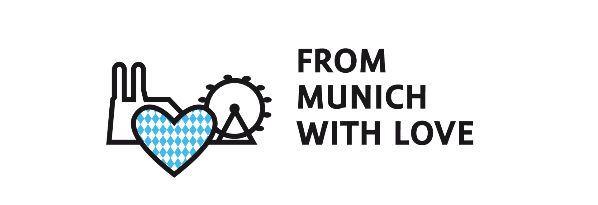 From Munich with Love Retina Logo
