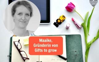Maaike Tiedge Gründerin von Gifts to grow