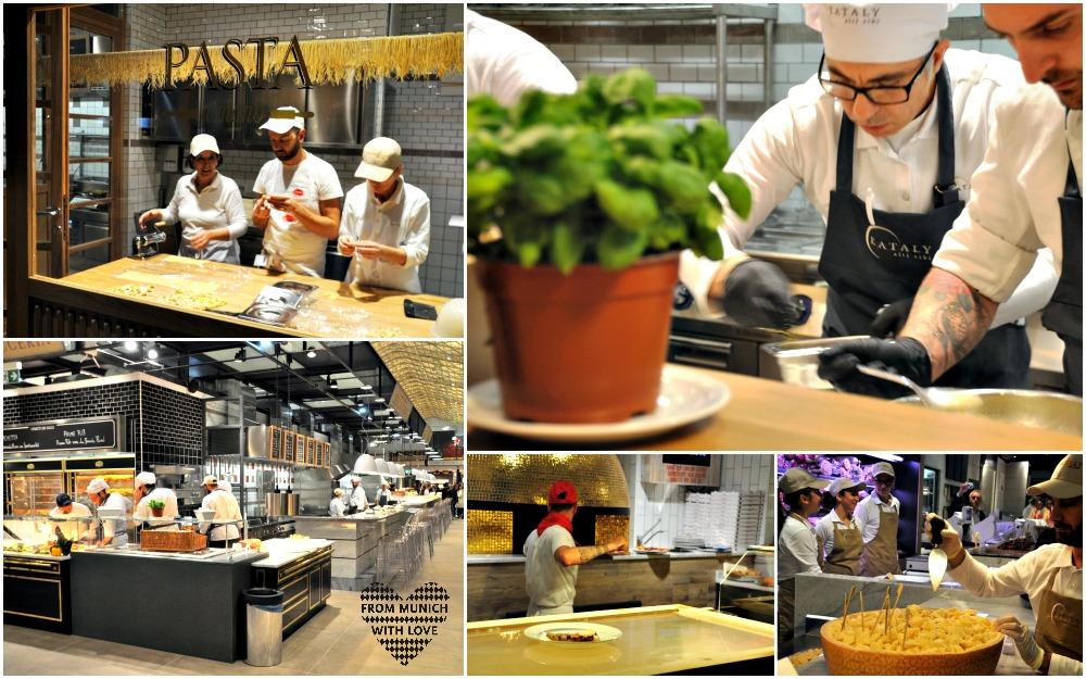 Eataly München Schrannenhalle Pizza und Pasta