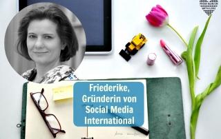 Friederike Gonzalez Schmitz, Gründerin von Social Media International