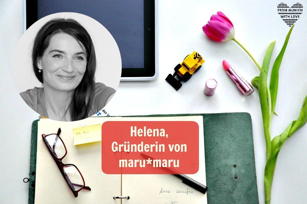 Helena Bode, Gründerin maru maru