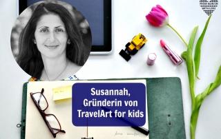Susannah Michalik TravelArt for kids