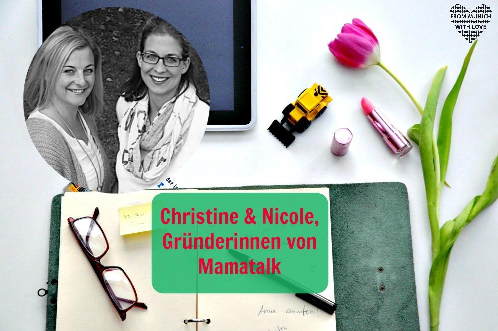 Christine und Nicole, Mamatalk