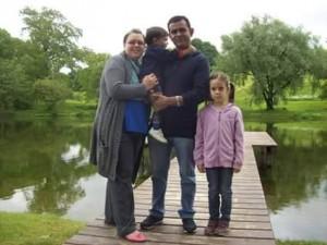 Grazyna mit der bilingualen Familie