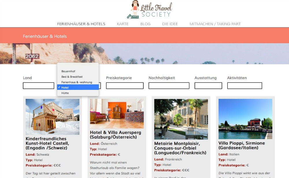 Littel Travel Society Homepage