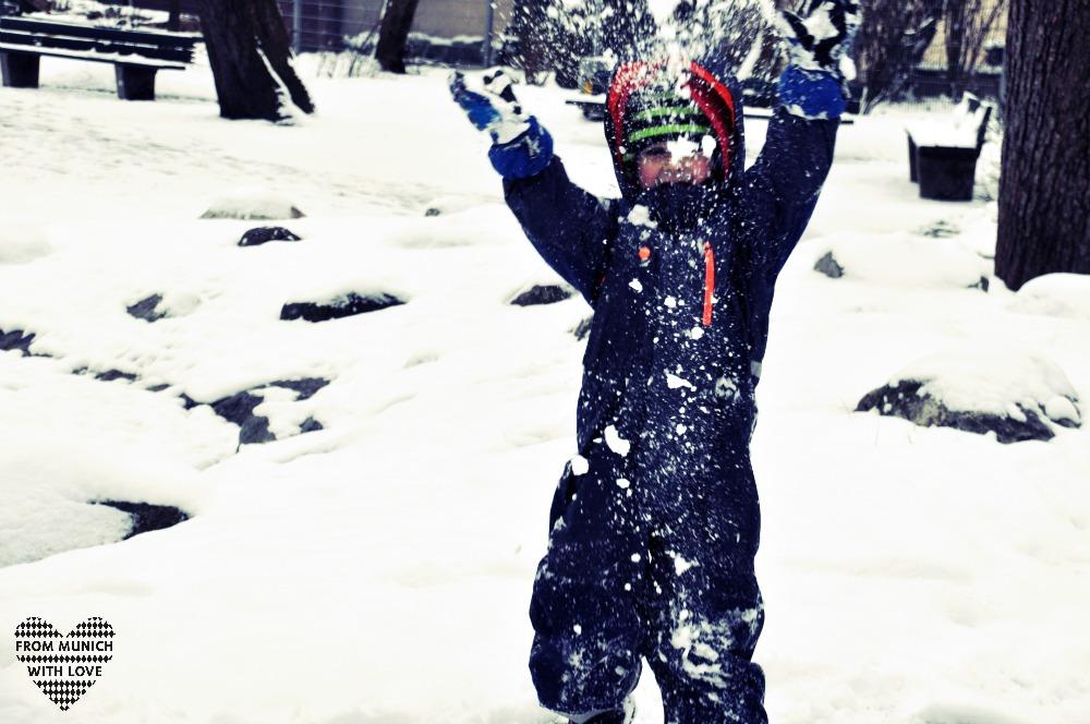 Schnee in München