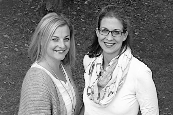 Christine Riedmann und Nicole Hemrich