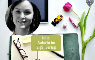 Julia A. Kris, Autorin im Eigenverlag