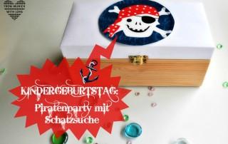 Piratengeburtstag mit Schatzsuche Kinder
