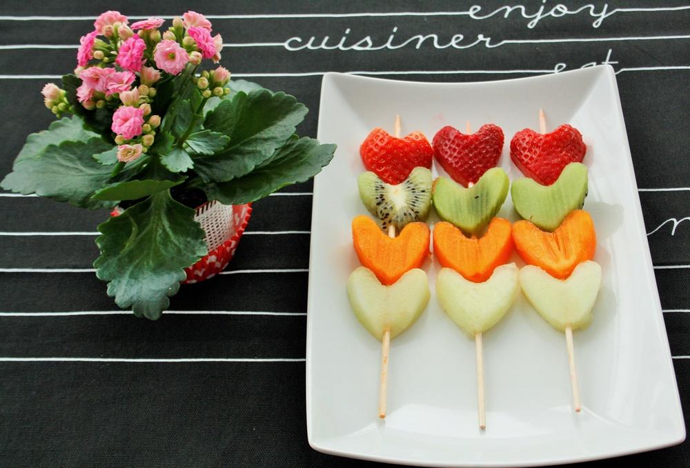 Valentinstag Kleine Snacks