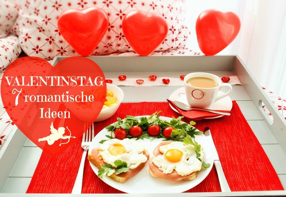 Valentinstag romantische Ideen