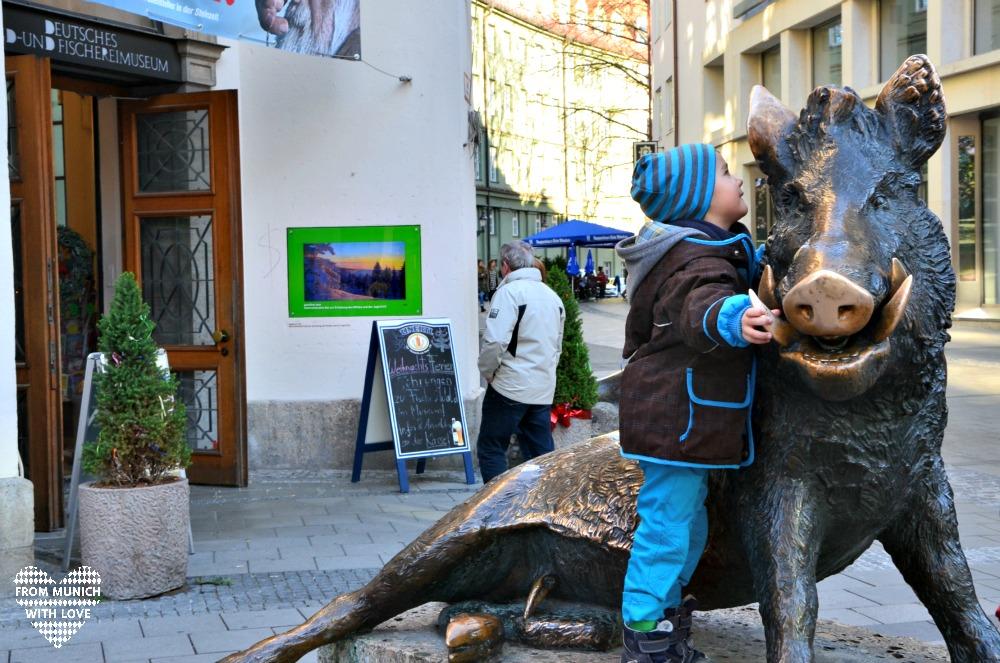 Waldpfad Jagd- und Fischereimuseum München