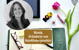 Nicola Hoensbroech, Gründerin DeinKindergeschirr