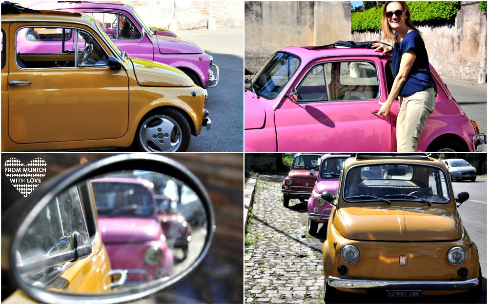 Autotour Fiat 500 Rom