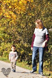 Fit in der Schwangerschaft Spazierengehen