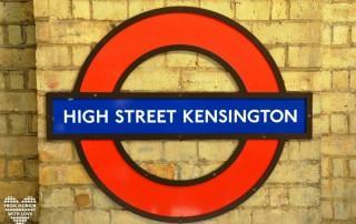 London High Street Kensingtone Tube