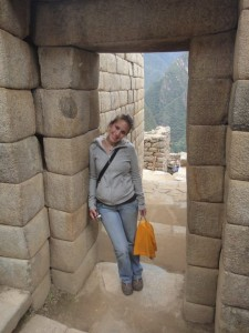 Melanie in Südamerika